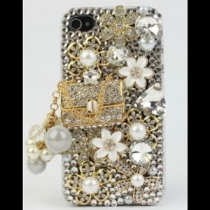 Glamour Series 3D Bling Crystal Case for iPhone 5